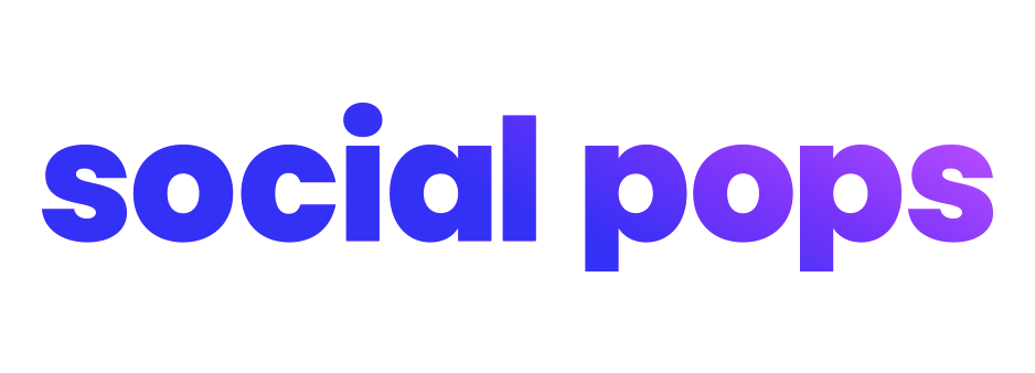 social pops logo